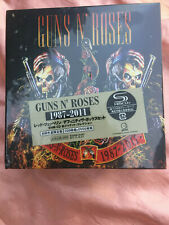 9 cd 2x dvd box set NEW sealed RARE JAPAN Guns N Roses AXL 87-2011 boxset geffen