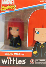 Black Widow Wittles Wooden Doll Entertainment Earth Marvel Comics New In Box
