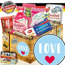 DDR Papatag Geschenkidee 3052BPapaW Bester Papa Nostalgie Süßigkeiten Box