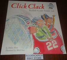 CLICK CLACK BUCKLED IN YOUR BOOSTER SEAT - BY DANNY KATZ PAPERBACK BOOK (2012)