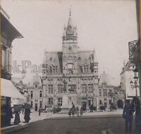 Compiegne L Hotel De Ville Francia Stereo Vintage Analogica