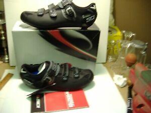 New Sidi Genius men bicycle shoes EUR 47 US 12 shadow black