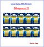 Lot de 40 Piles Varta zinc carbone Superlife AAA LR03 prix cassé !!