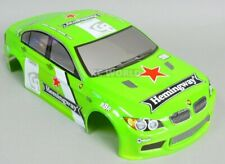 1/10 RC Car BODY Shell BMW 3 SERIES 200mm Fits HPI *PRE- FINISHED* GREEN