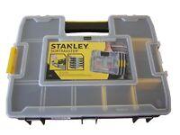 Stanley Organizer SortMaster Junior Sortiment Kasten 1-97-483  14 Fächer