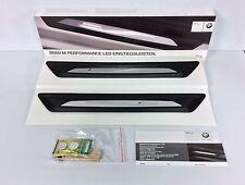 BMW M Performance Illuminated Door Sill Covers 51472359786, 51 47 2 359 786
