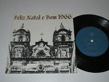 "7""/VOLKSWAGEN VW WERBEPLATTE/FELIZ NATAL E BOM 1966/made in Brazil"