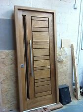 Contemporary Solid Oak Front Door