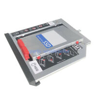 panel frontal 2nd HDD SSD disco duro óptico Caddy para Lenovo Thinkpad L440 L540
