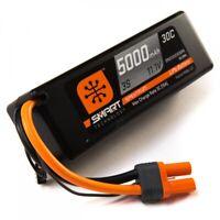 Spektrum 5000mah 3S 11.1V Smart LiPo 30C; Hardcase SPMX50003S30H5