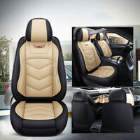 Universal Car PU Leather Protectors Seat Soft Cover Fullfilled Wear-Resistant *