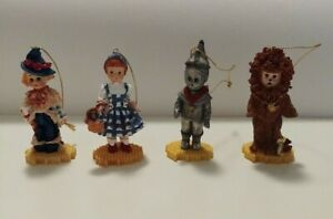 Effanbee Wizard Of Oz Christmas Ornaments Set Of 4  1999