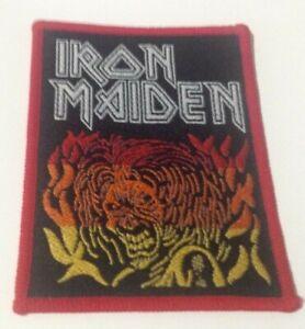 Iron Maiden Eddie vintage 1980s SEW ON PATCH