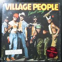 Village People - Live And Sleazy VG+ Promo 2 LP Casablanca NBLP-2-7183 USA 1979