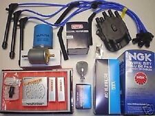 Tune Up Kit(Fits: Nissan Quest 1998) Distributor Cap,Rotor,Filters, Wires,Plugs