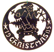 BIEDERMANN COMMEMORATIVE JEWELERS BRASS 1985 EDITION ORNAMENT WITH JACKET