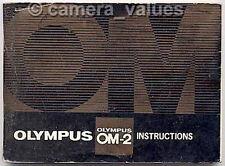 Olympus OM-2n Camera Manual & Short Guide. More OM2n Instruction Books Listed