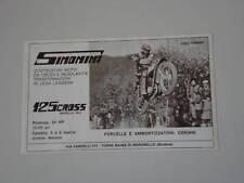 advertising Pubblicità 1973 MOTO SIMONINI 125 CROSS
