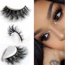 3D Lashes Mink Natural Thick False Fake Eyelashes Eye Lashes Makeup Extension WC