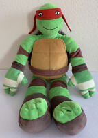 "Teenage Mutant Ninja Turtles RAPHAEL Plush Big 24"" Doll Toy Nickelodeon TMNT"