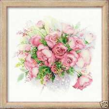 "RIOLIS Cross stitch kit ""Watercolor Roses"" art. #1335, flowers"