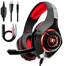 Beexcellent GM-1 Cuffie da gaming con microfono e Bass stereo Cancellazione d...