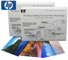 "HP Glossy Greeting Card & Photo Album Paper 400 Sheets 9.5 X 7"" (SQ8033)"