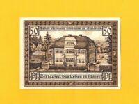 SIEBLEBEN / GOTHA (ALLEMAGNE) BILLET-MONNAIE de NECESSITE illustré VILLA FREYTAG
