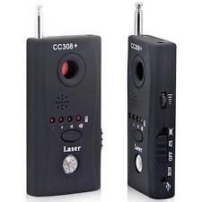 CC308 Detecteur Sans fil Boitier anti espion et GSM Camera caché UHF VHF Laser