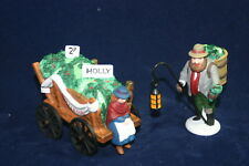 Chelsea Market Mistletoe Monger & Cart The Heritage Collection Department 56