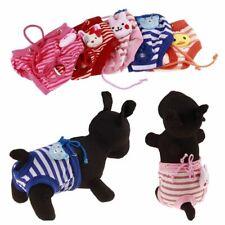 Unisex Pet Clothes Sanitary Pants Short Diaper Puppy Cotton Tighten Strap Briefs