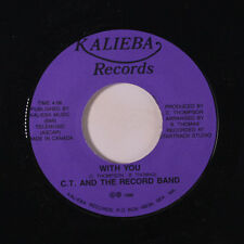 C.T. & RECORD BAND: With You / Into The Future 45 Hear! (Seattle modern soul ob