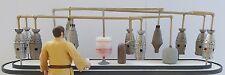 "Star Wars custom Mos Eisley Cantina bar top with distillery for 3.75"" figures"