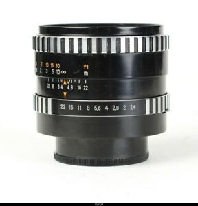 * Lens Zeiss from Jena Pancolar 1.4/55mm  First Production for Pentax M42 Mint-