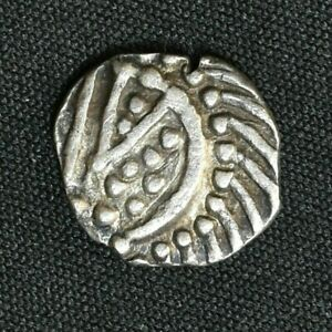 Anglo Saxon, AR Sceat, Continental issue, 695-740 AD, Series E, Variety E, S790d