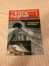 JANUARY 1997 INAUGURAL TRACK & SIGNAL MAGAZINE AUSTRALIA VINTAGE TRAIN RAILROAD