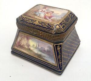 Antique Sevres Porcelain Box France