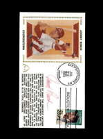 Johnny Bench PSA DNA Coa Hand Signed Cooperstown HOF FDC Cache Autograph