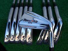 PowerBilt TPS Jodi Mudd Forged Iron Set 2-PW Steel S300U Shaft Irons USA MADE RH