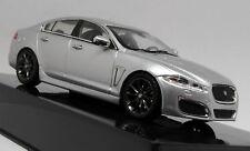 Ixo 1/43 Scale - Jaguar XF XFR Rhodium Silver Diecast Model Car
