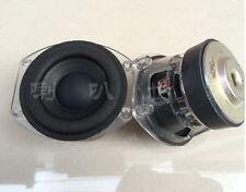 "2pcs 3"" inch 4Ohm 4Ω 30W Crystal subwoofer Speaker Loudspeaker for harman"