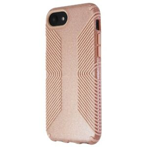Speck Presidio Grip + Glitter Case for iPhone 8 / iPhone 7 - Gloss Pink/Glitter