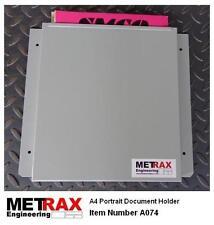 Steel Document Holder - Van Racking Garage Workshop Paperwork Folder Storage