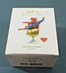 Hallmark Keepsake SUPERMAN THE MAN OF STEEL Ornament  ~ 2006