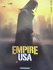 DESBERG, GRIFFO. Empire USA 1. Tome 1. Dargaud (2011).