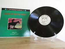 Songs of the Old West Stereo Vinyl LP Buckingham JIMMIE DALE & Western Trailsmen