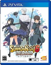 SONY PSVITA Japan Summon Night 6 Lost Borders Tracking Number from Japan