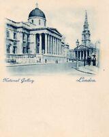 LONDON - National Gallery - 1899 Original Postcard (96L)