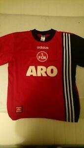 Nurnberg Football Shirt  Home1997 1998 1999 Adidas Medium M