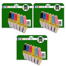 18 Ink Cartridges for Epson Stylus Photo 1400 1410 1500W non-OEM E791-6